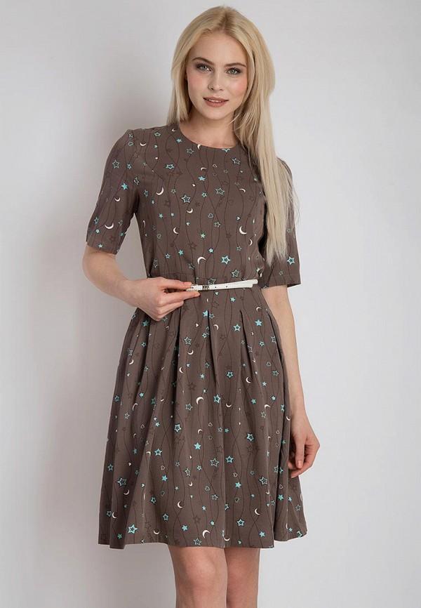 Купить Платье Finn Flare, MP002XW13SO4, коричневый, Весна-лето 2018