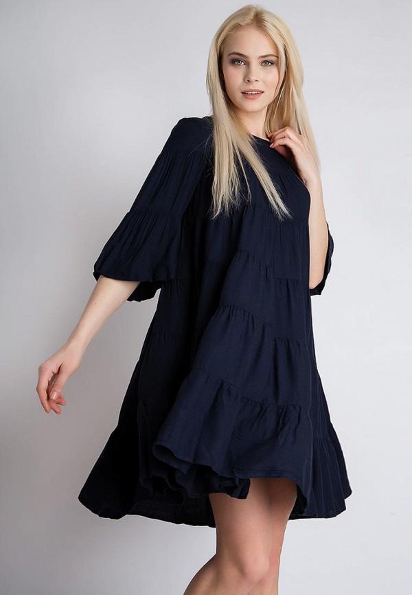 Купить Платье Finn Flare, MP002XW13SP5, синий, Весна-лето 2018
