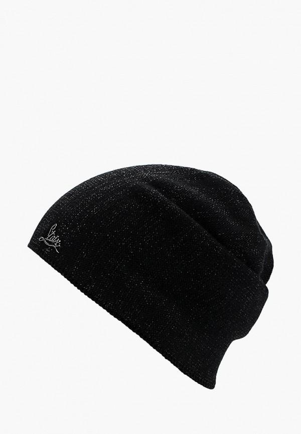 женская шапка staix, черная