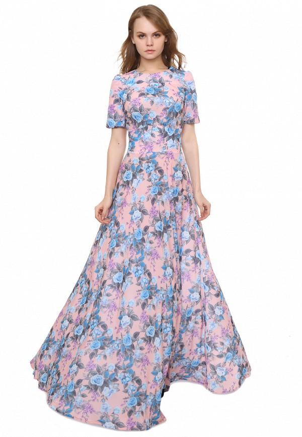 женское повседневные платье marichuell, розовое