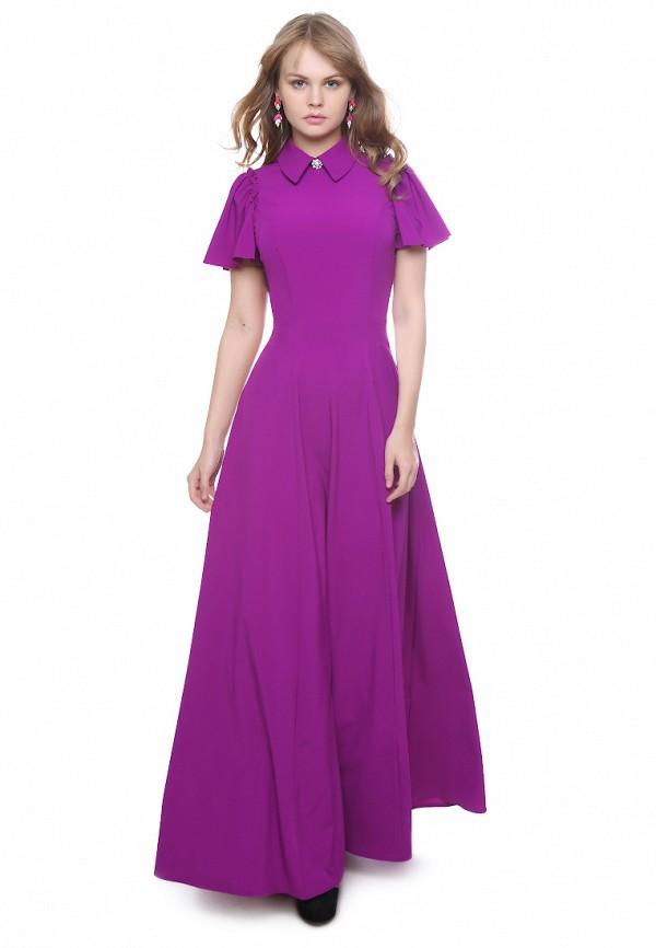 женское повседневные платье marichuell, фиолетовое