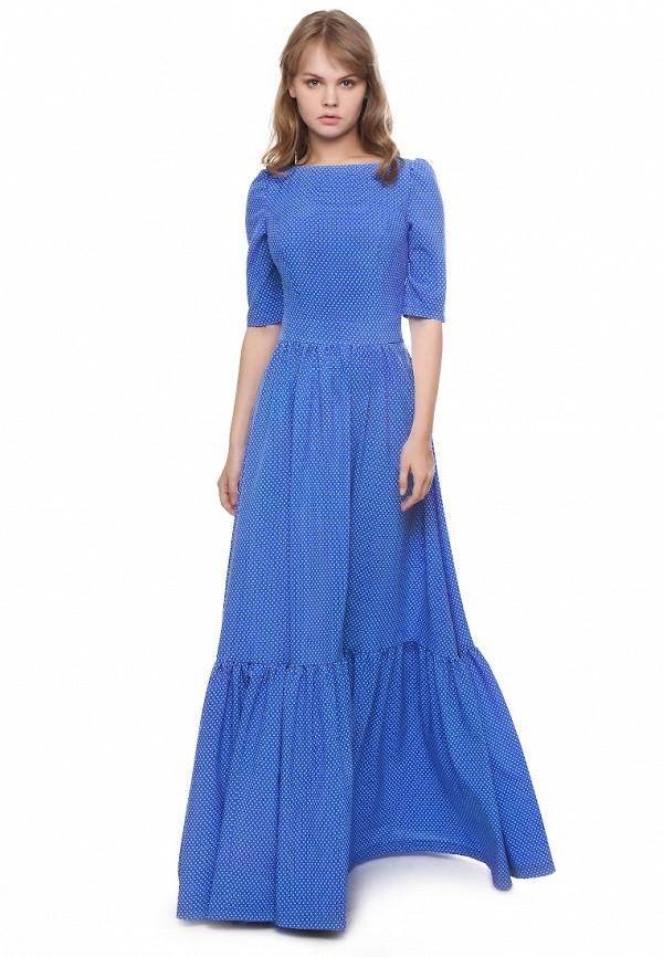 женское повседневные платье marichuell, синее