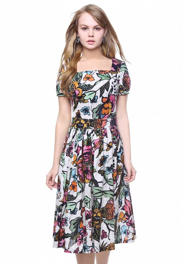 женское платье миди marichuell, разноцветное