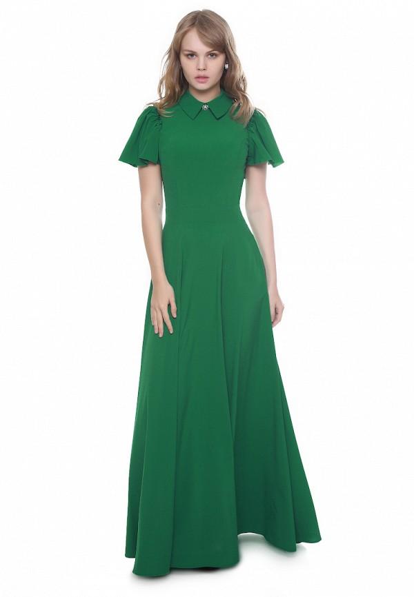 женское вечерние платье marichuell, зеленое
