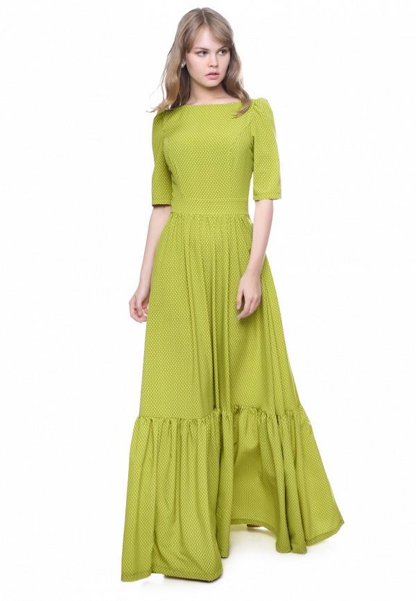 женское повседневные платье marichuell, зеленое