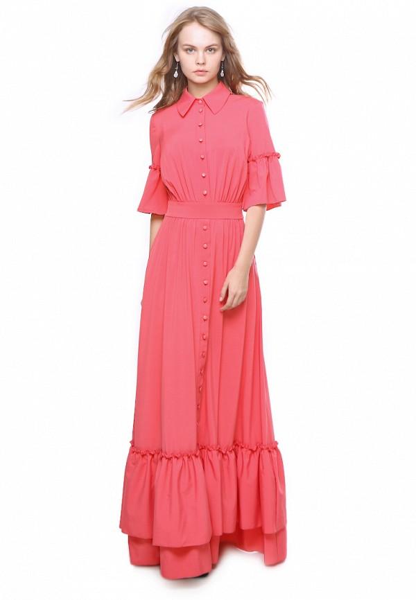женское вечерние платье marichuell, розовое