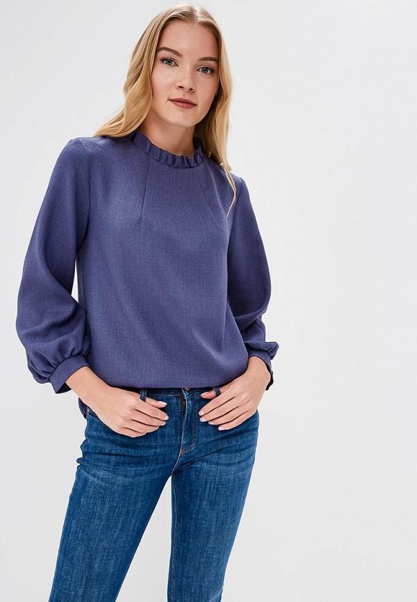 женская блузка lautus, синяя