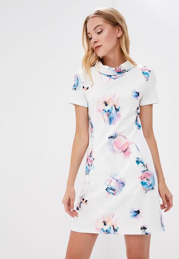 женское повседневные платье lautus, белое