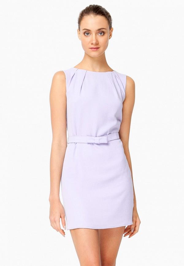 женское повседневные платье nai lu-na by anastasia ivanova, фиолетовое