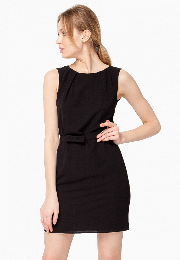 женское повседневные платье nai lu-na by anastasia ivanova, черное