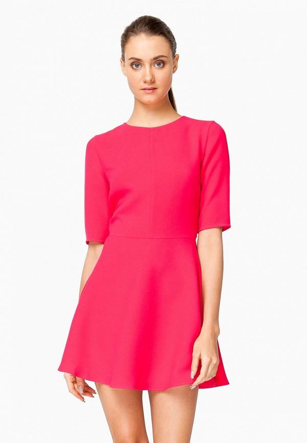 женское повседневные платье nai lu-na by anastasia ivanova, розовое