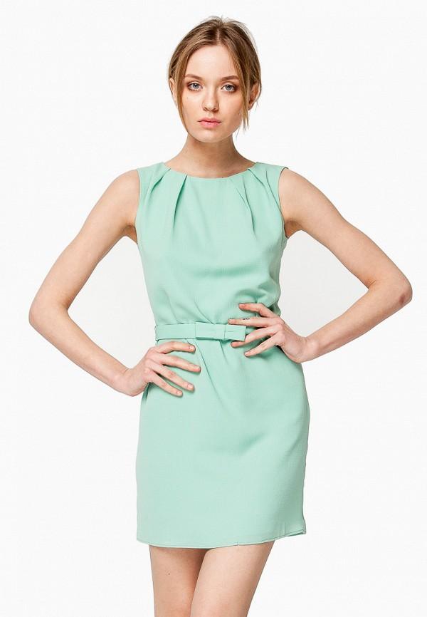 женское повседневные платье nai lu-na by anastasia ivanova, зеленое
