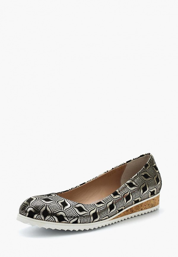 женские туфли hestrend, золотые