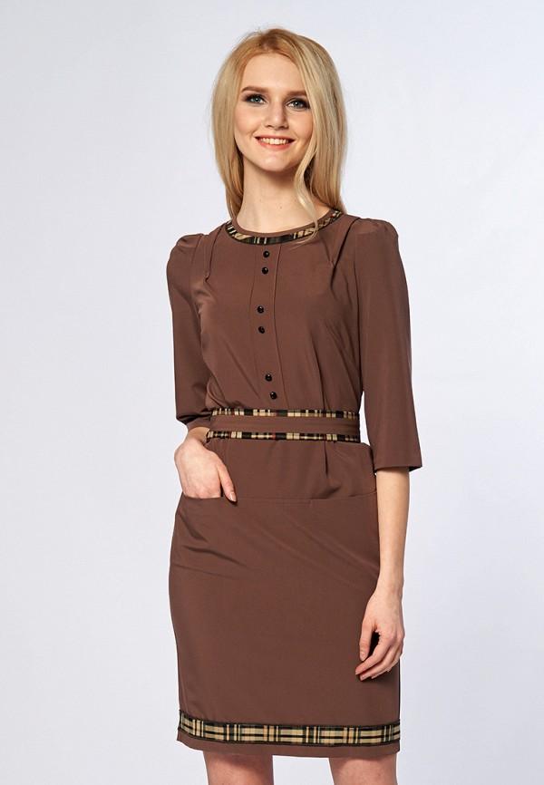 Купить Платье Ано, MP002XW13UF2, коричневый, Весна-лето 2018