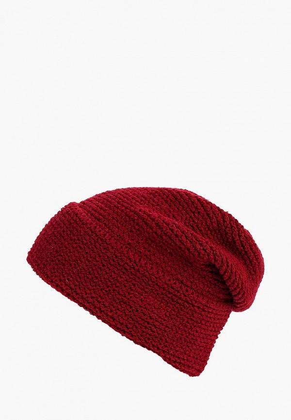 женская шапка freespirit, бордовая