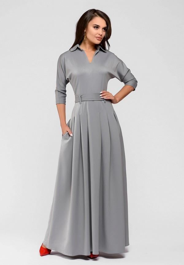 Купить Платье D&M by 1001 dress, mp002xw13ul3, серый, Весна-лето 2018