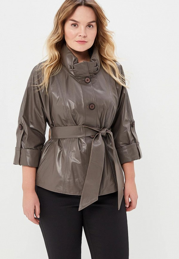Куртка кожаная Grafinia Grafinia MP002XW13UZF