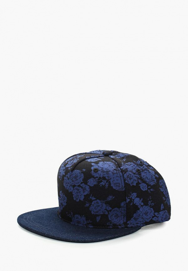 женская бейсболка moltini, синяя