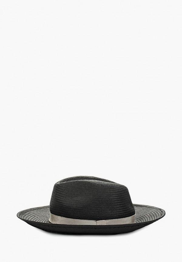 женская шляпа moltini, черная