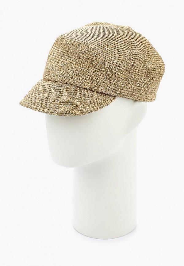 женская кепка moltini, бежевая