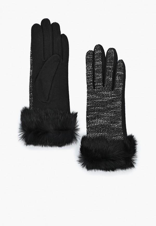 женские текстильные перчатки moltini, серые