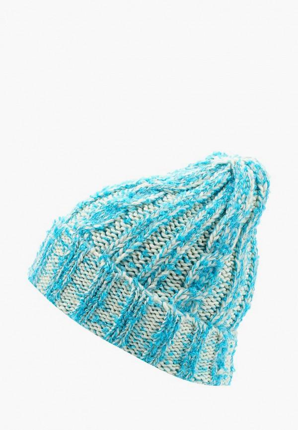 женская шапка moltini, голубая