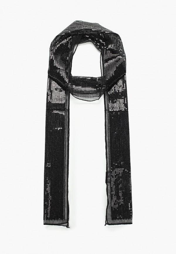 женский шарф moltini, черный
