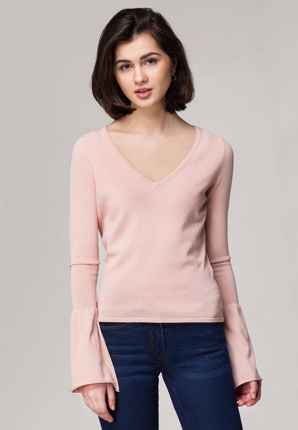 Пуловер Vilatte цвет розовый