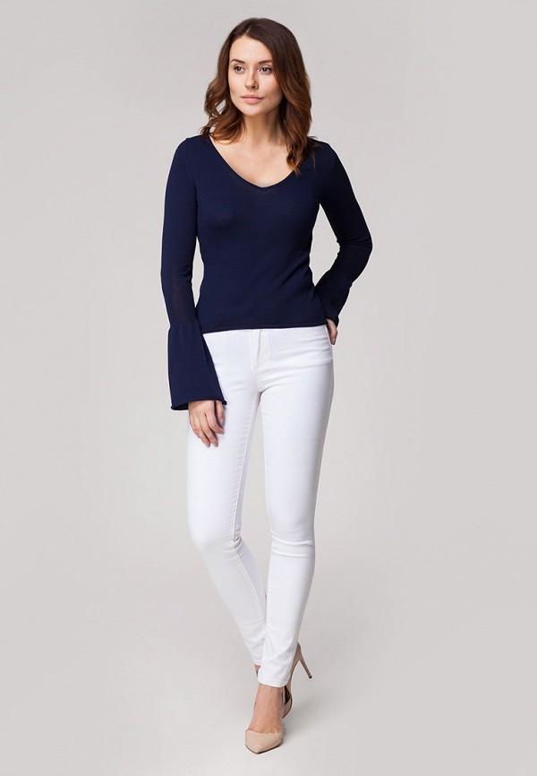 Пуловер Vilatte цвет синий  Фото 2