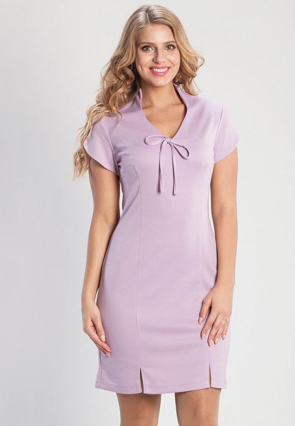 женское платье мини olga peltek, розовое
