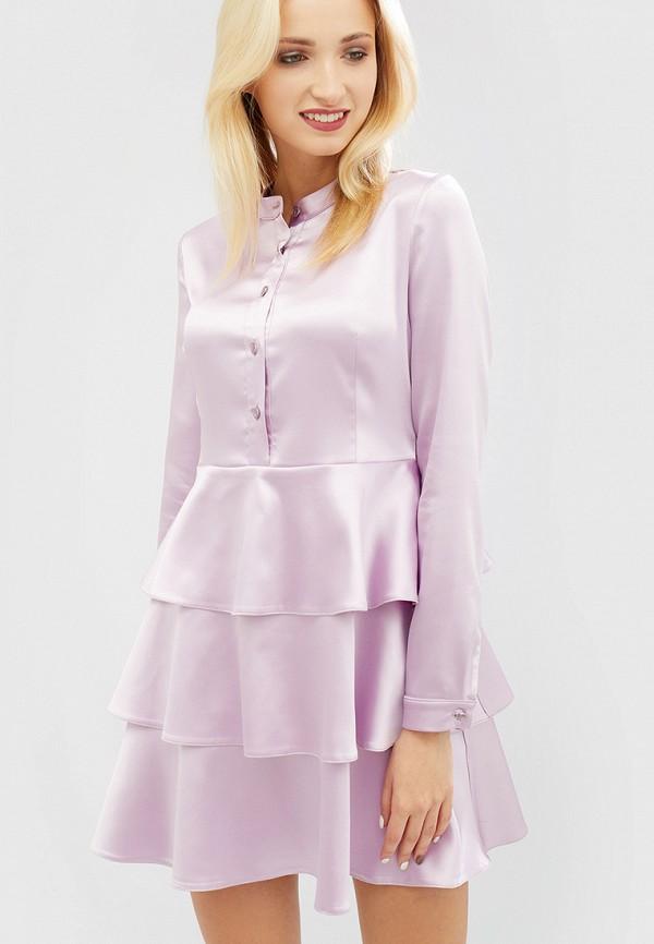 женское вечерние платье cardo, фиолетовое