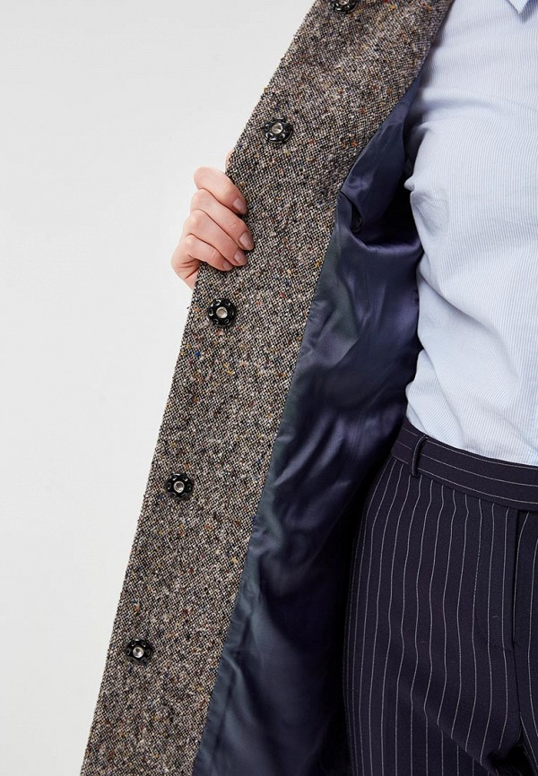 Пальто Alix Story цвет серый  Фото 4