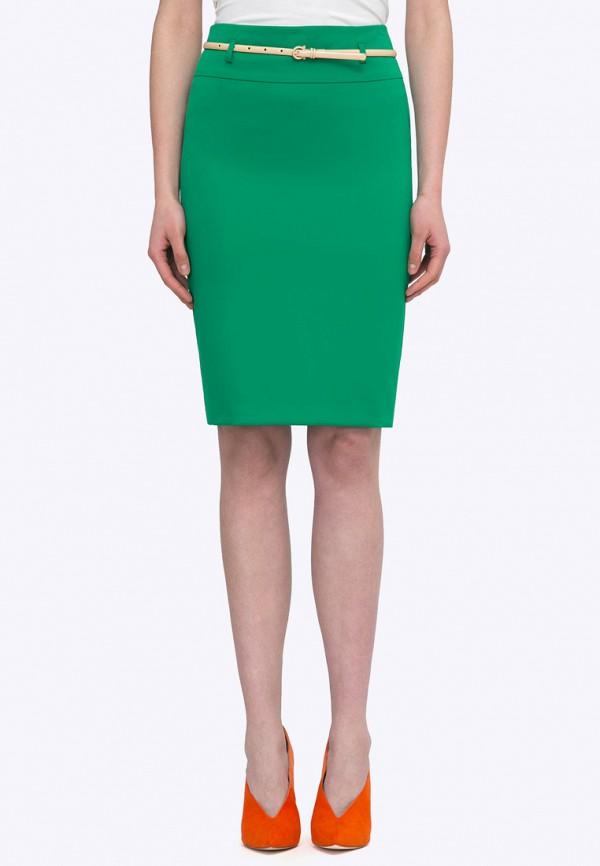 Юбка  зеленый цвета