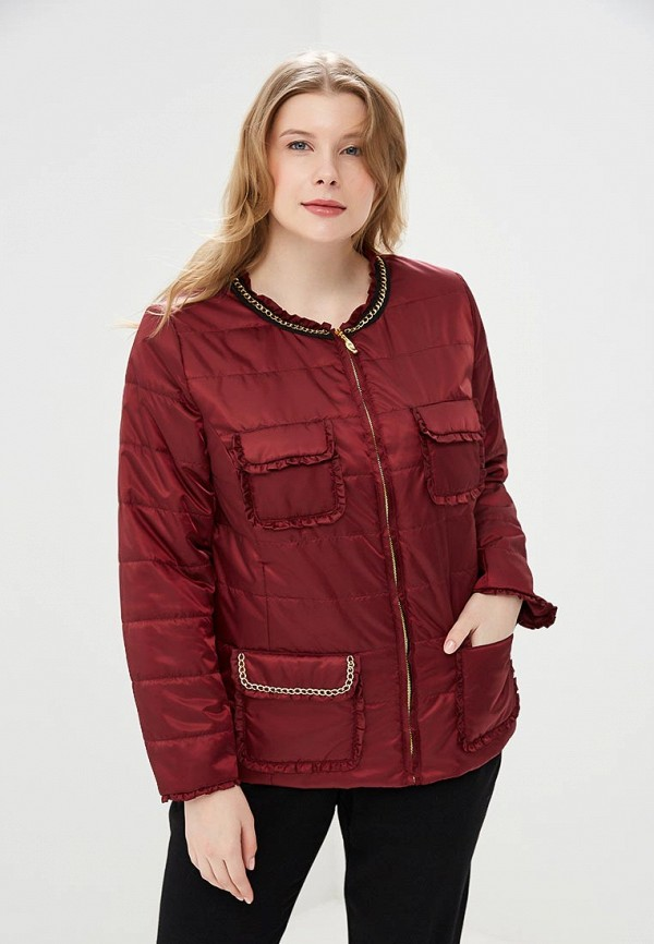 Купить Куртка утепленная KR, mp002xw13wux, бордовый, Весна-лето 2018