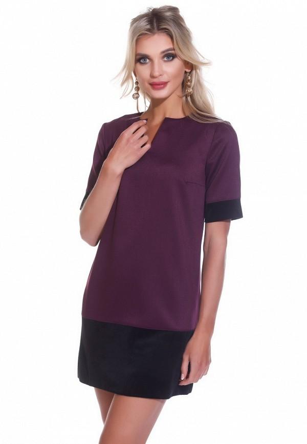 Купить Платье Gloss, MP002XW13WWT, фиолетовый, Весна-лето 2018
