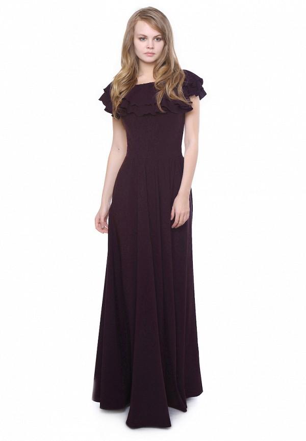 женское платье макси marichuell, фиолетовое