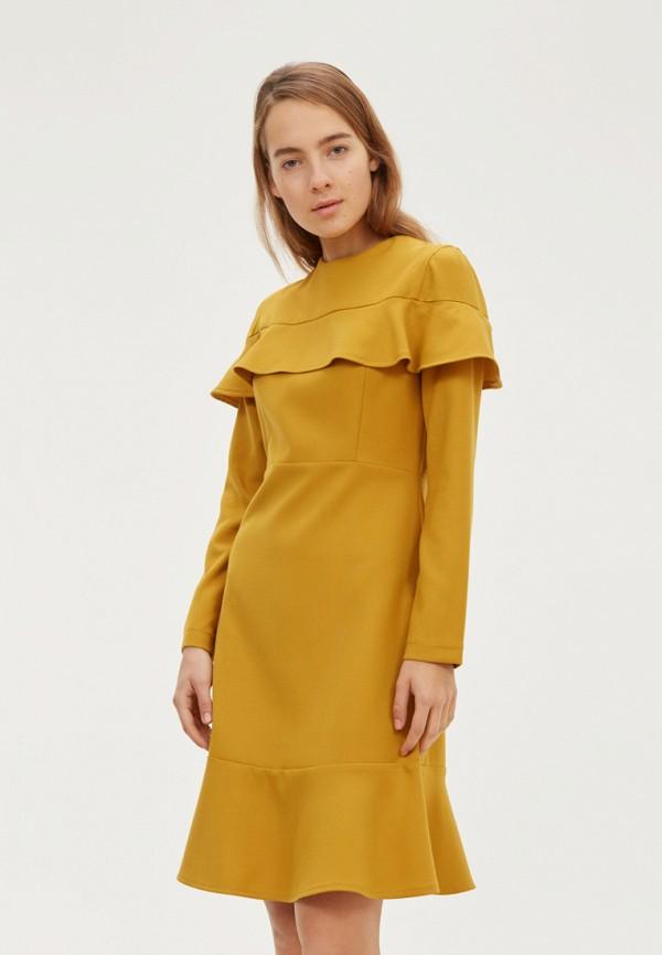 женское платье base forms, желтое