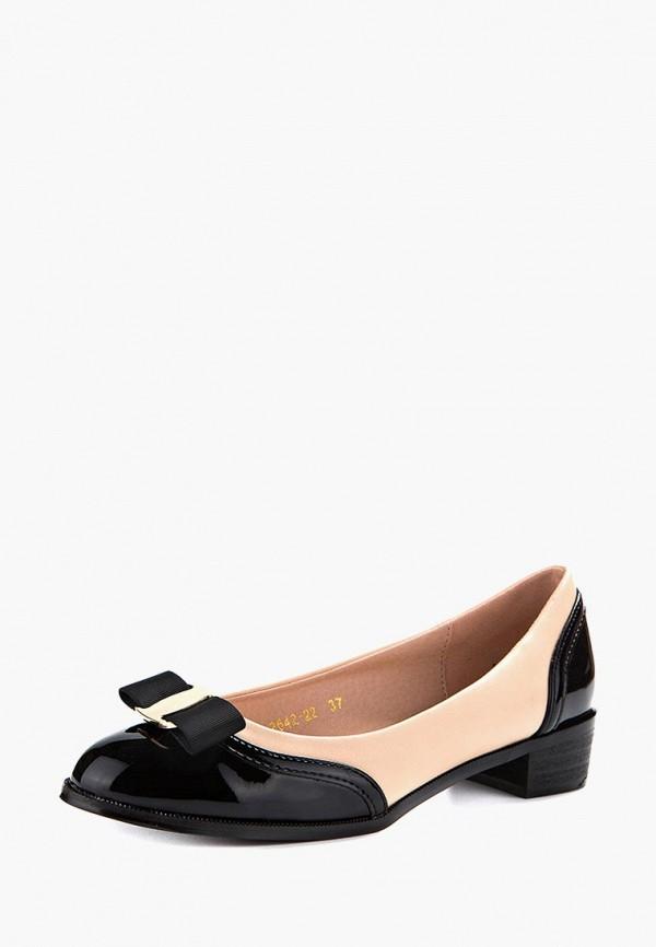Купить Туфли Marco Bonne`, MP002XW13YTK, бежевый, Весна-лето 2018
