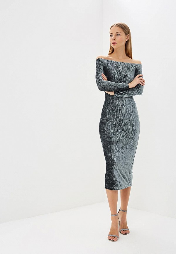 женское платье ruxara, бирюзовое