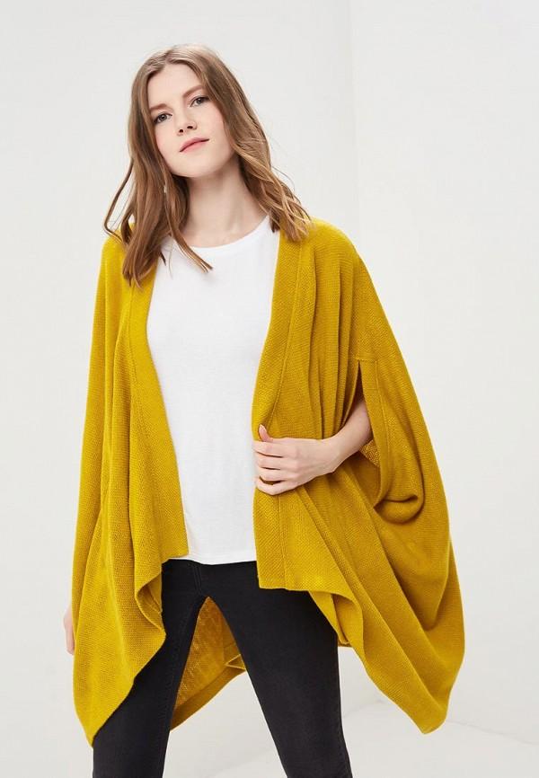женский кардиган ruxara, желтый