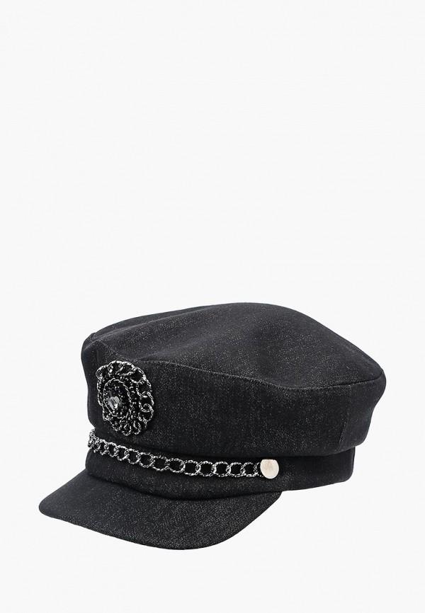 женская кепка miss sherona, черная