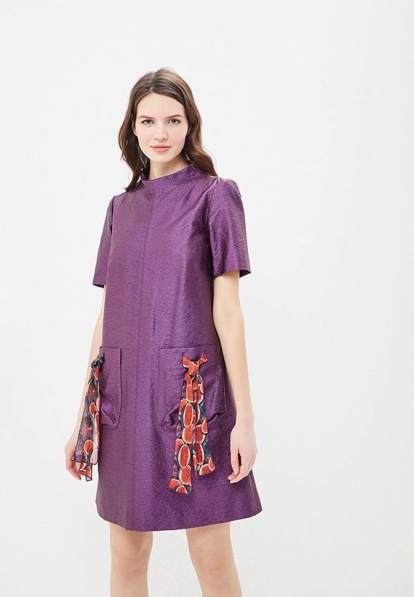 Купить Платье Galina Vasilyeva, MP002XW13ZAL, фиолетовый, Весна-лето 2018