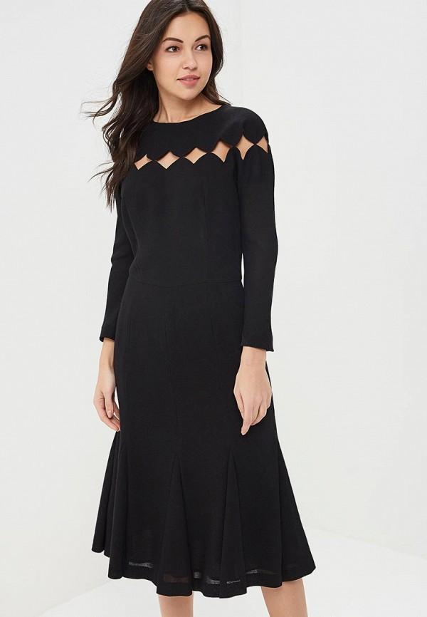 Купить Платье Galina Vasilyeva, MP002XW13ZAO, черный, Весна-лето 2018