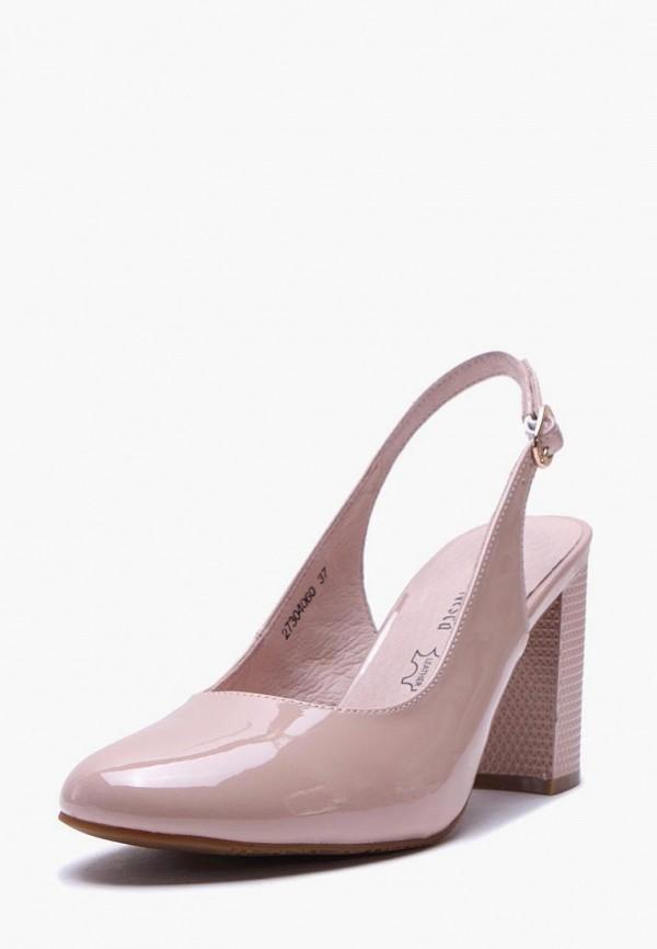 Туфли с открытой пяткой Alessio Nesca