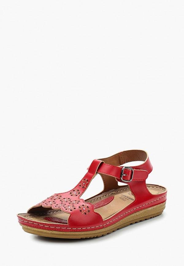 женские сандалии t.taccardi, красные