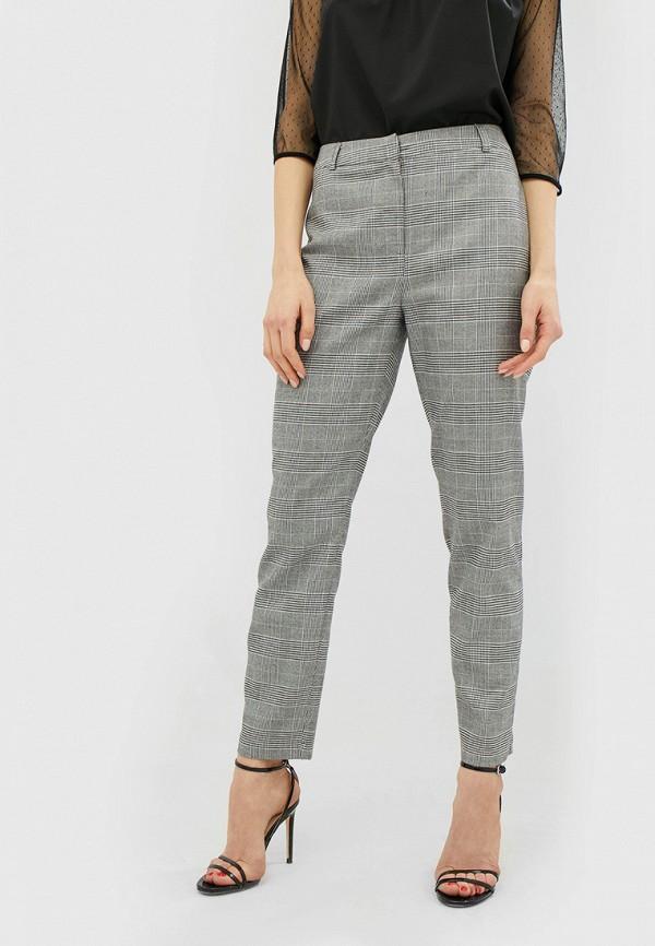 женские классические брюки cardo, серые