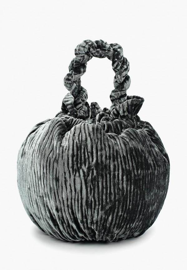 женский клатч ruxara, серый