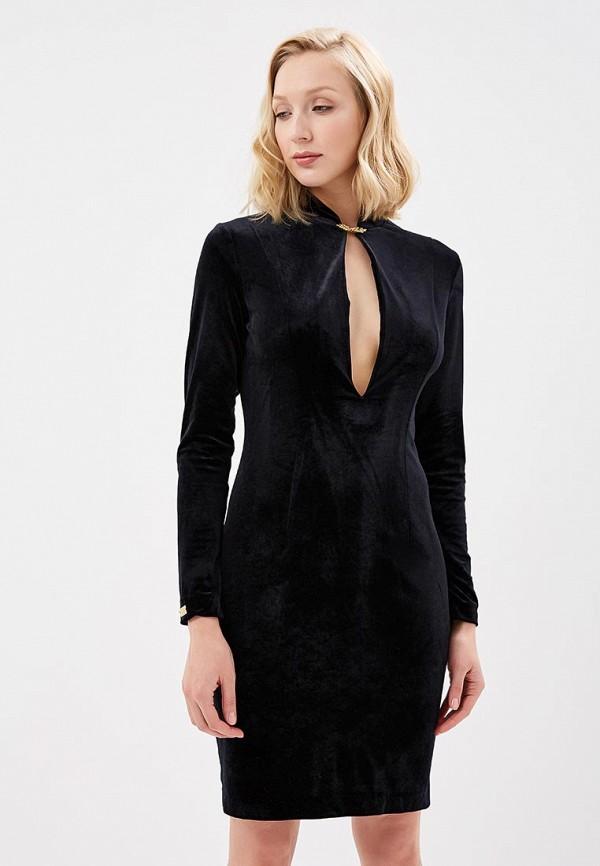 женское вечерние платье royal elegance, черное