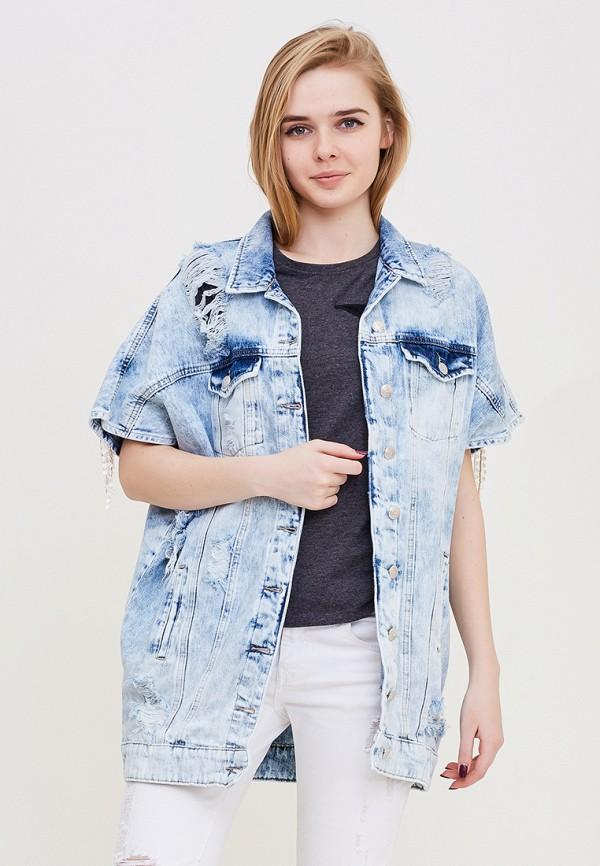Купить Жилет джинсовый DSHE, mp002xw140t7, голубой, Весна-лето 2018
