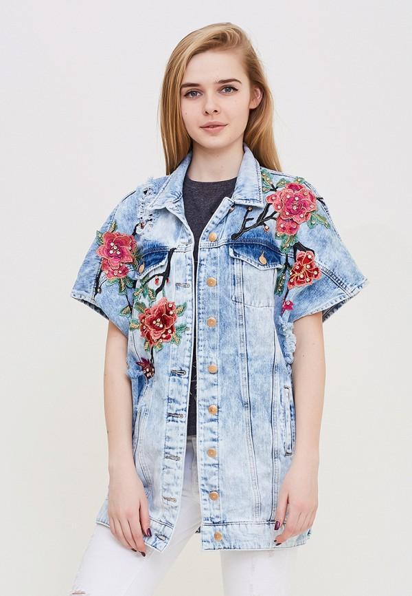 Жилет джинсовый DSHE, MP002XW140T8, голубой, Весна-лето 2018  - купить со скидкой